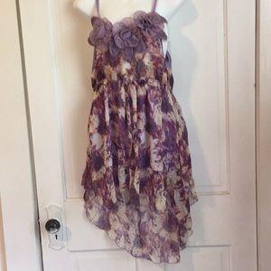 Pretty Angel Silk/Polyester Summer Dress NWT